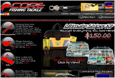 Core Fishing Tackle Home Page